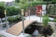 segro® Teichbrücke Rundbogen Aluminium